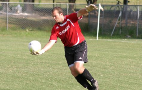 Junior Matt Moore was named Heartland Conference Defensive Player of the Week.