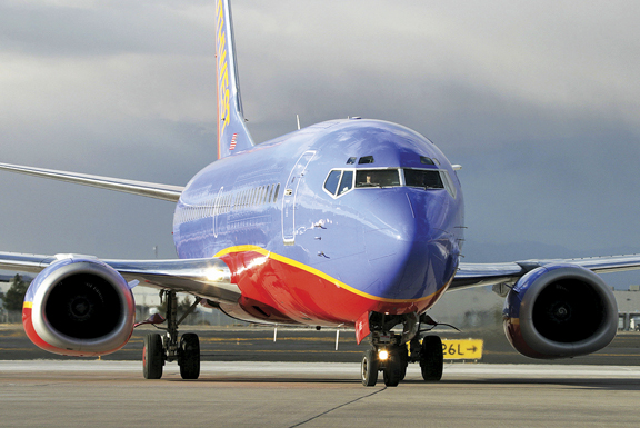 Southwest Airlines is known for cheap flights.