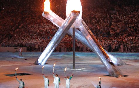 The opening ceremony of the 2010 Winter Olympics in Vancouver.