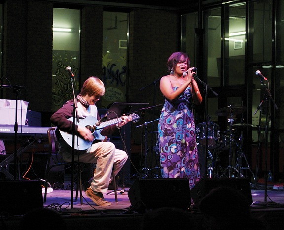 The benefit concert for Haiti, Music for the Soul, ended up raising an estimated $600.