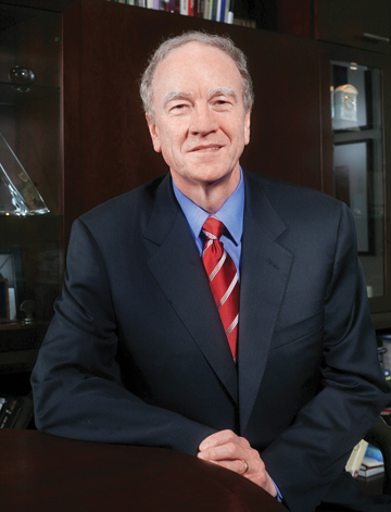 St. Edward's University President George Martin
