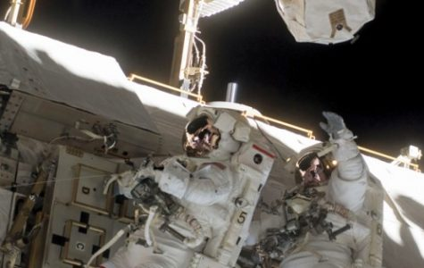 American astronauts riding with Russians to space