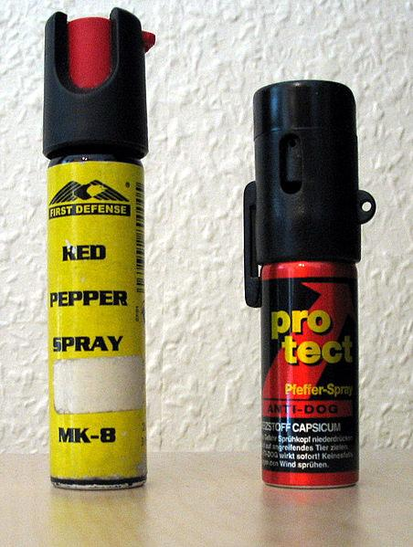 Many countries require permits to purchase and use pepper spray.