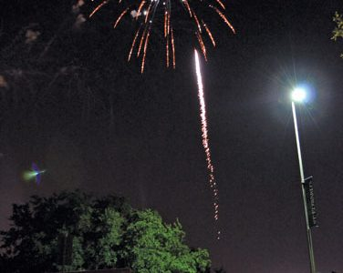 Hillfest fireworks generate interest, burn ban concerns