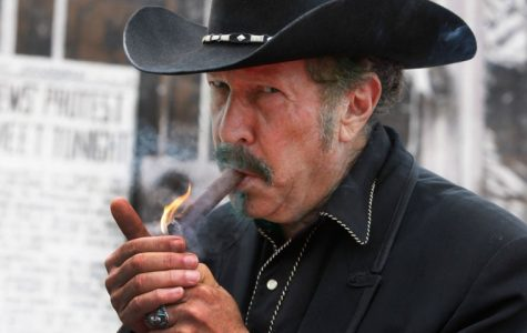 Mystery novel-writer Kinky Friedman will be selling his book Heroes of a Texas Childhood at 5pm on Saturday, October 27 at the Texas Book Festival.
