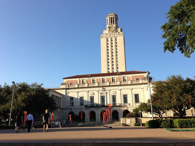 The main building and tower at the University of Texas, Austin. The campus has recently suffered from a string of racially motivated and culturally insensitive incidents.