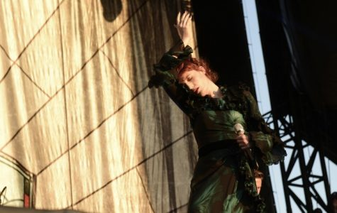 Florence + The Machine played a spectacular set on the Bud Light stage on Friday evening.