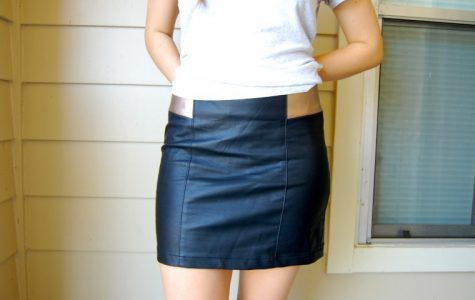 The leather trend is manifested in many types of clothing.