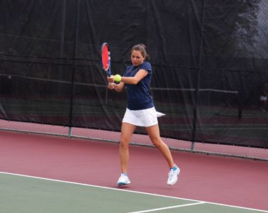 Women's tennis starts early at regional tennis tournament