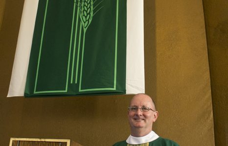 Father Peter Walsh is the new director of Campus Ministry.
