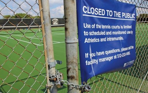 Tennis court closure causes controversy