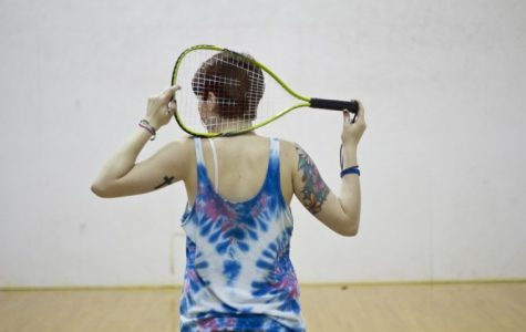 Student discovers doorway to athleticism through racquetball