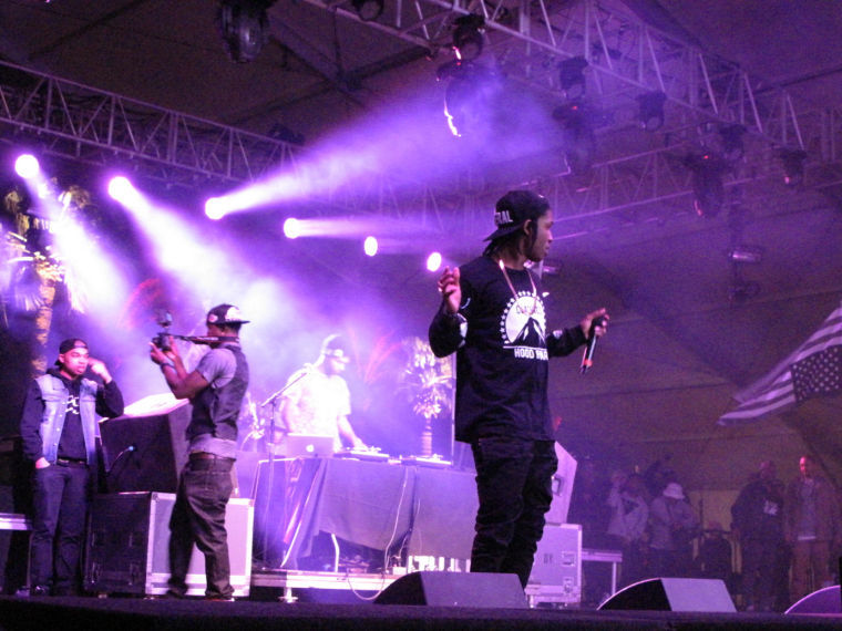 A$AP Rocky performing live