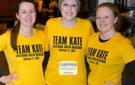 Formed in support of Kate Voth '07, Team Kate's roster is the largest in LIVESTRONG history.