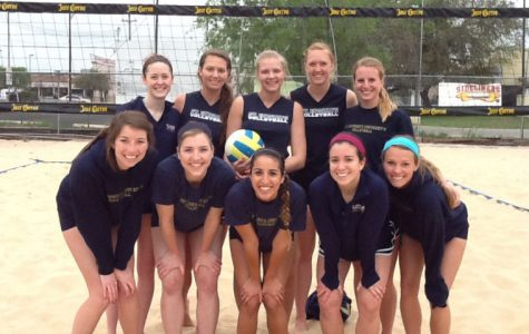 Volleyball trades court for sand in San Antonio