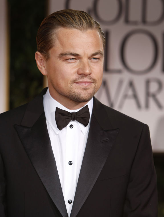 Leonardo+DiCaprio+on+the+red+carpet+at+the+69th+Annual+Golden+Globe+Awards.%0A