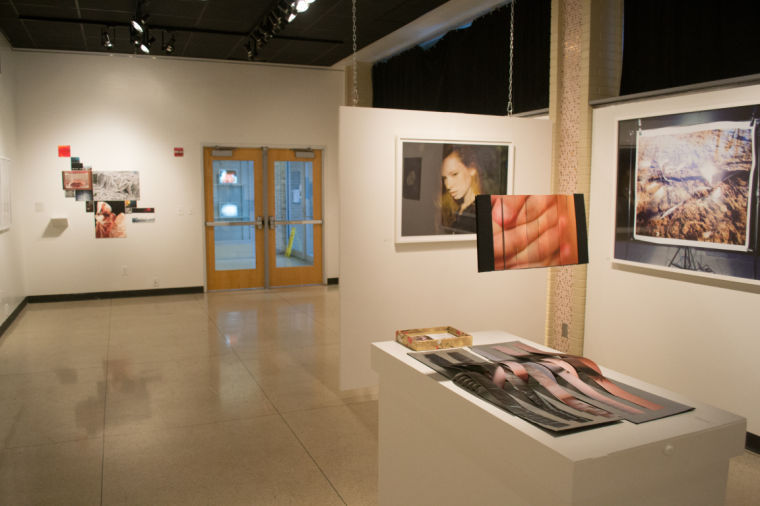 Although the various photos ranged in size, composition, subject, color and theme, each student contributed their own work to the exhibit and created a unified and coherent presentation.