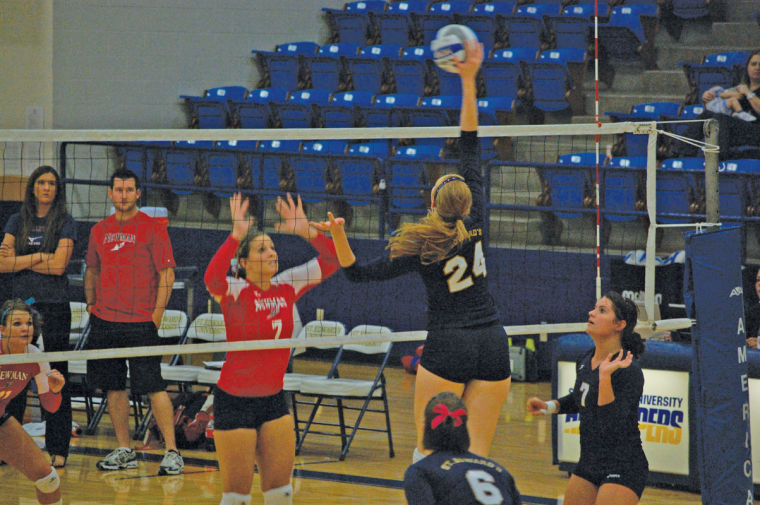 The volleyball team will lose six seniors and gain five players.