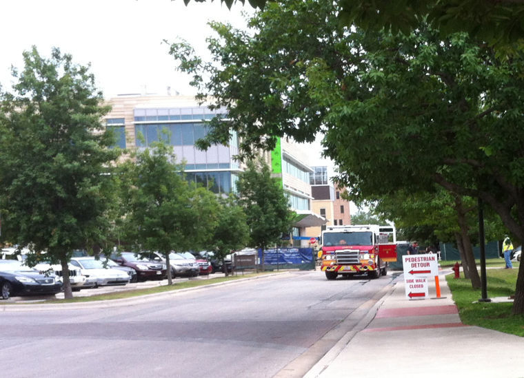 The+Fire+Department+was+testing+the+fire+lines+near+the+JBWN+building+and+Dujarie+parking+lot.%C2%A0%0A