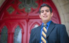 Octavio Sanchez will serve as president of the student body for next year.