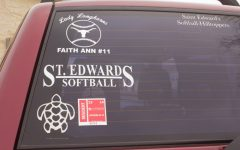 New stickers replace hang-tags for parking permits on SEU campus.