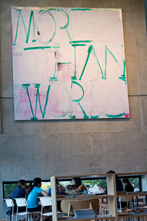 Commissioned specifically for St. Edward's University and one of the library's latest additions, the art piece has sparked an intense, often negative dialogue across campus and social media.