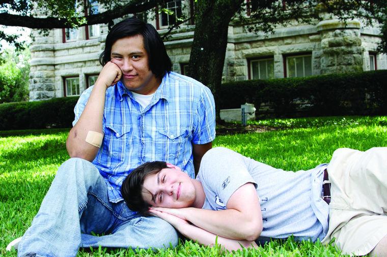 Seniors Eric Boshart and Nick Fuentes started Fool's Gold comedy magazine.