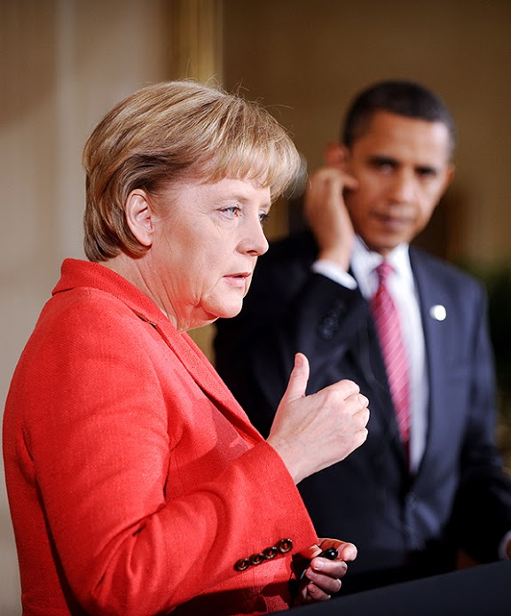 Chancellor+Angela+Merkel+may+have+been+spied+on+by+the+U.S.