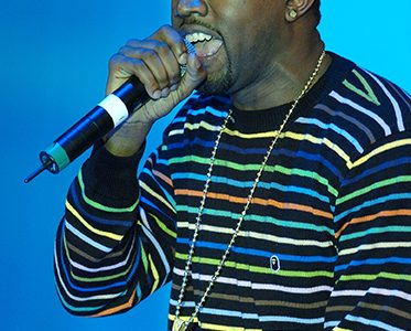 Kanye West performs at the 4th Annual