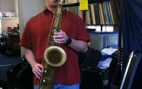 Colarusso has played the saxophone for 29 years.