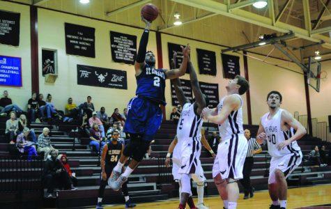 Men's basketball falls below .500 after 6 game skid