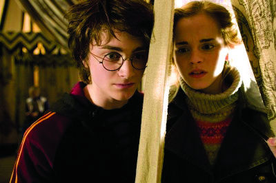 There's only one type of relationship between Harry Potter and Hermione Granger: friendship