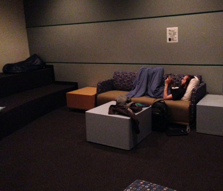 Nap rooms are essential to student physical, mental wellness
