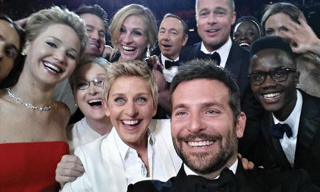 Ellen shut down Twitter's servers with her star-studded selfie.