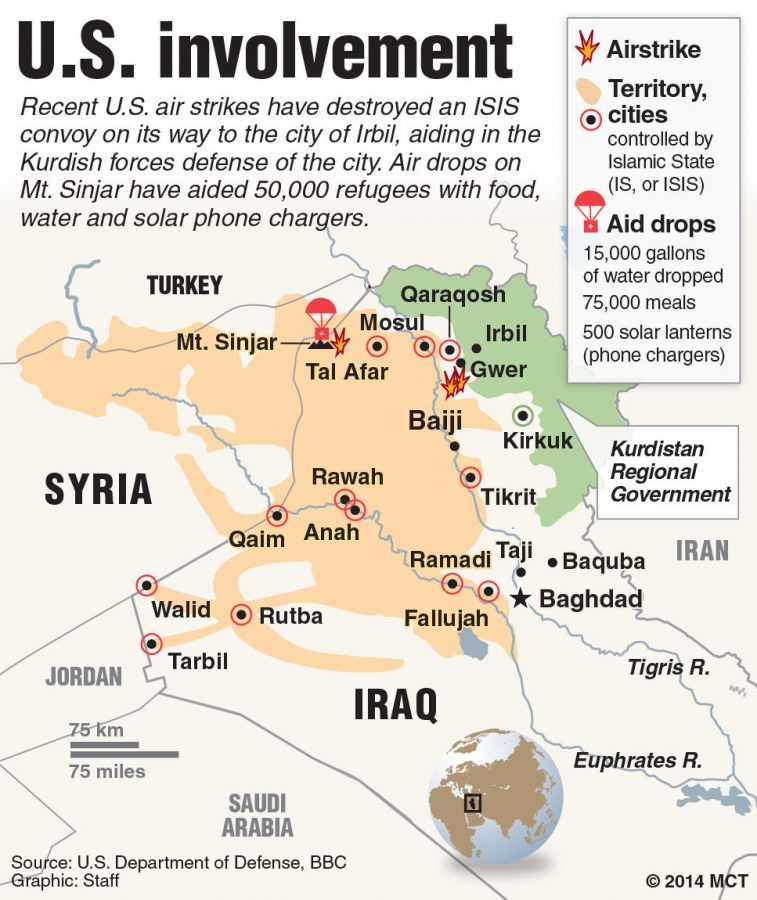By continuing drone strikes, civilians will be killed and ISIS will be getting what it wants.