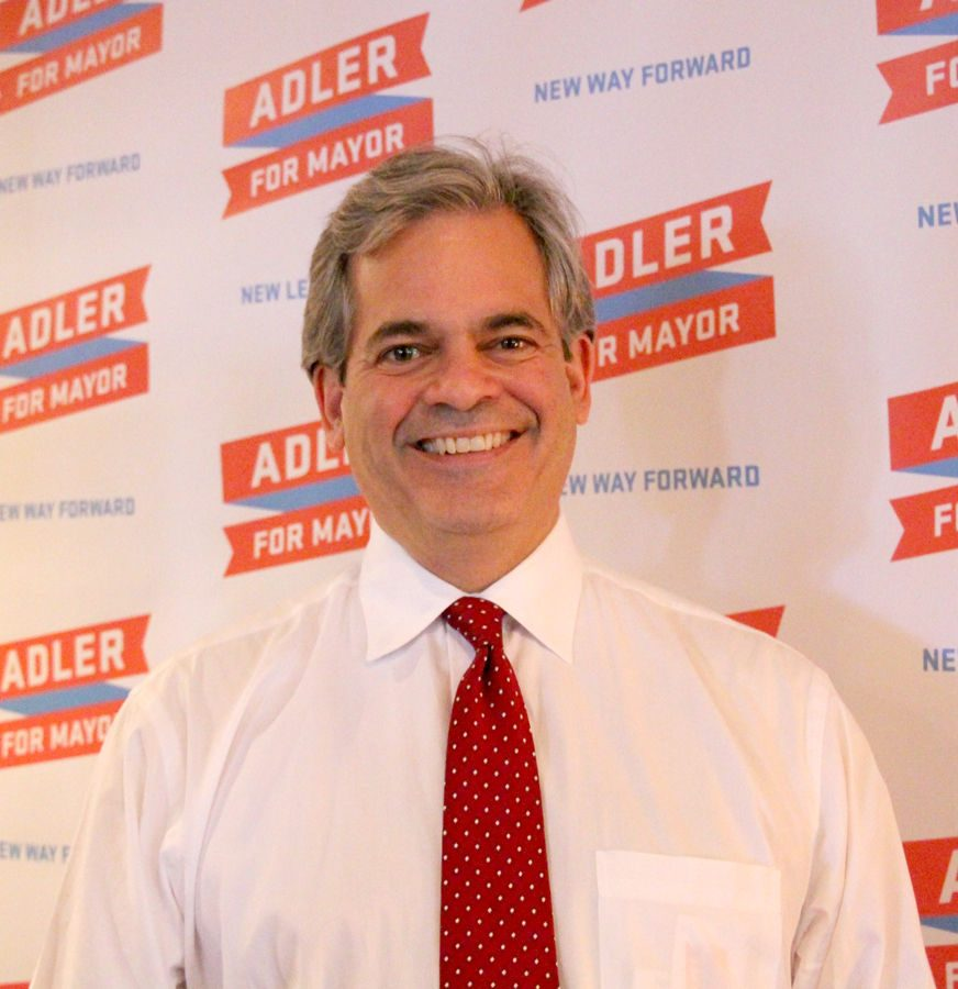 As mayor, Adler wants to improve Austin by ensuring the city executes long term plans.