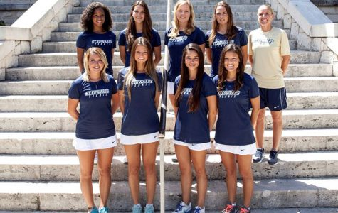 Women's tennis gaining more experience against top teams