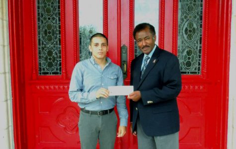 Veteran awarded scholarship for service, major, high GPA