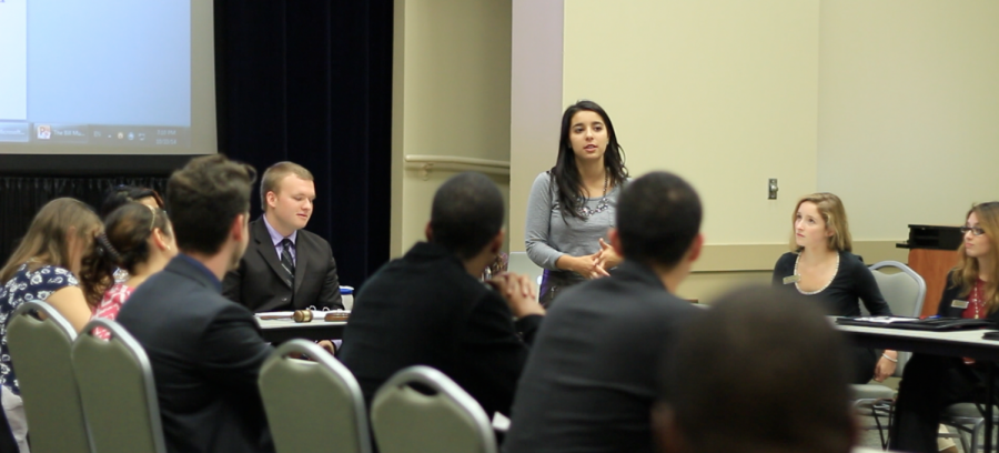 Victoria Ochoa leads efforts with SGA to create awareness about the