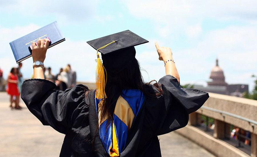 St. Edward's University diplomas currently do not list a student's major.