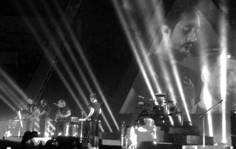 Bastille performing at the Cedar Park Center.