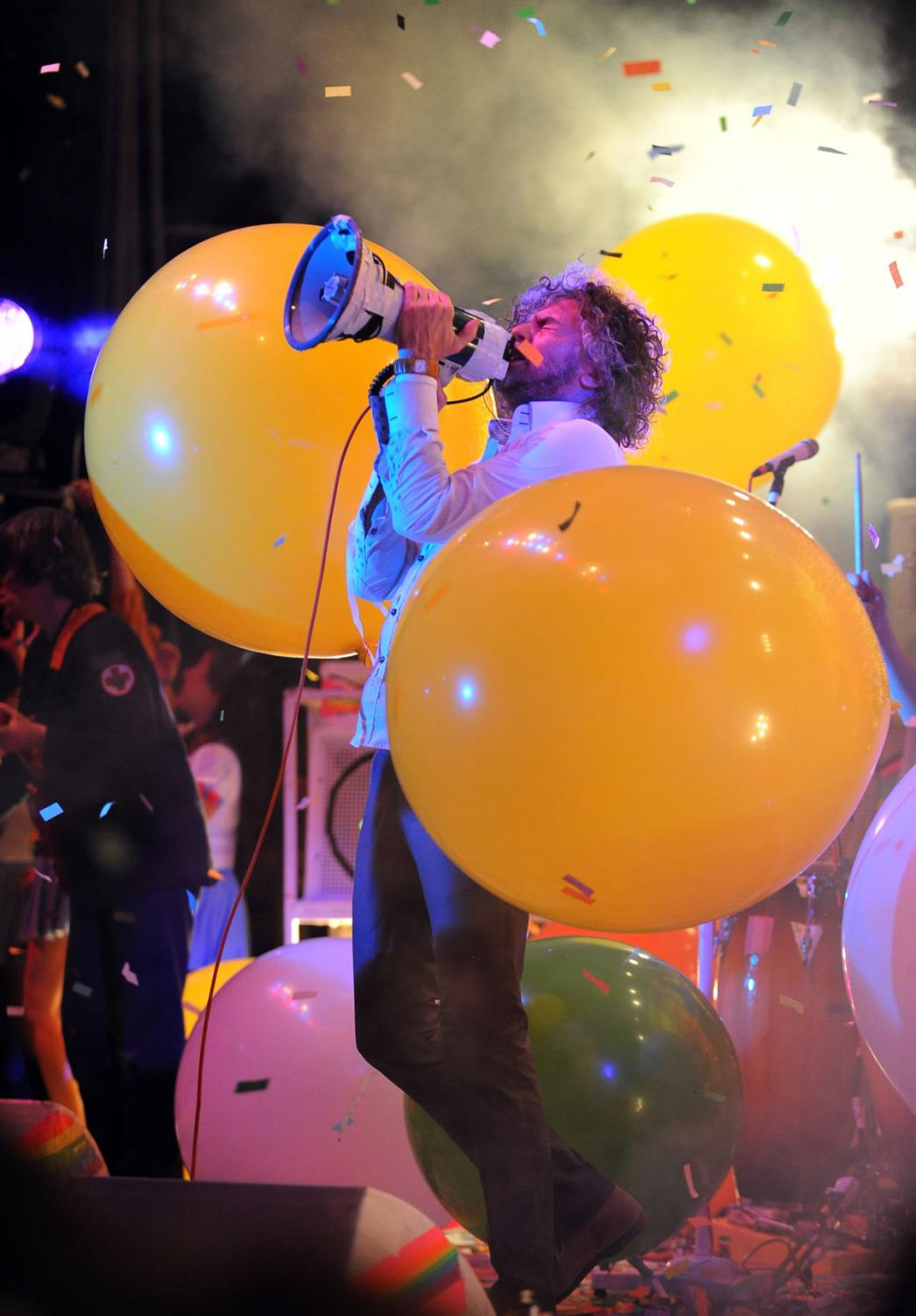 The Flaming Lips lead singer Wayne Coyne and Miley Cyrus have become close friends lately, even getting matching tattoos and collaborating musically.