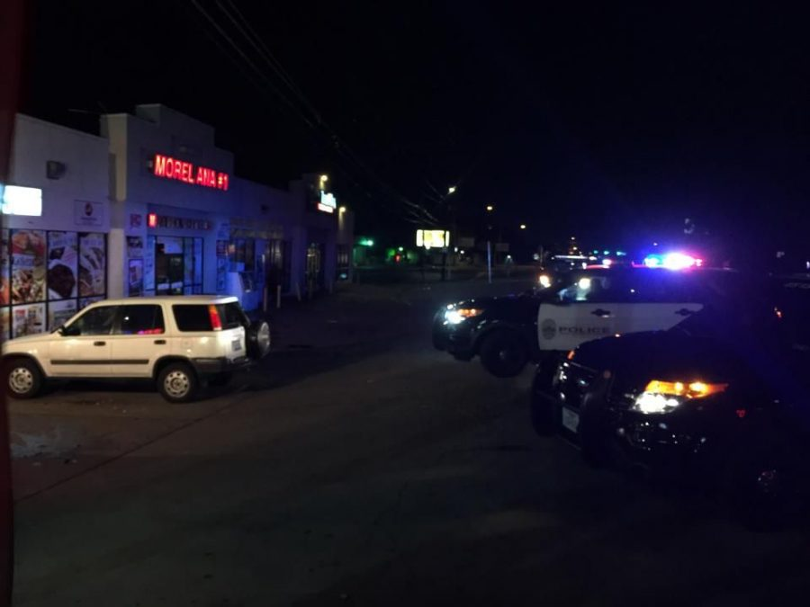 Police responded to a stabbing in the 3600 block of South Congress Friday night.