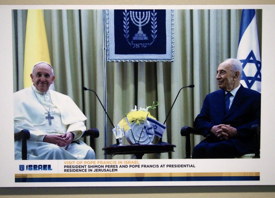 """Pope Francis on Pilgrimage to the Holy Land: A Photo Exhibition"""" ran from Feb. 16 to Mar. 16"""