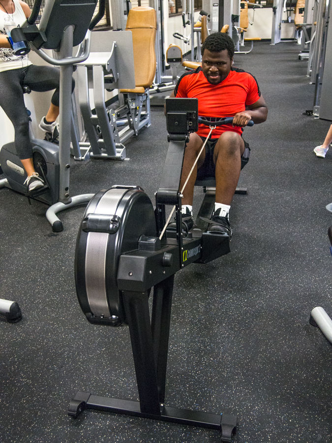 SGA passed legislation resulting in the purchase of a rowing machine.