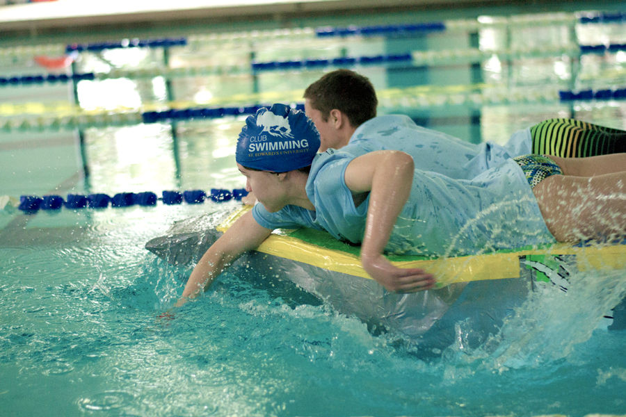 Nearly thirty teams competed in the week-long games to try to knock off the defending champions, the Aqua Gods.