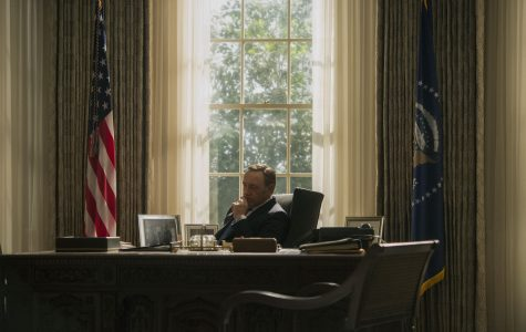 Kevin Spacey stars as President Frank Underwood on Netflix's
