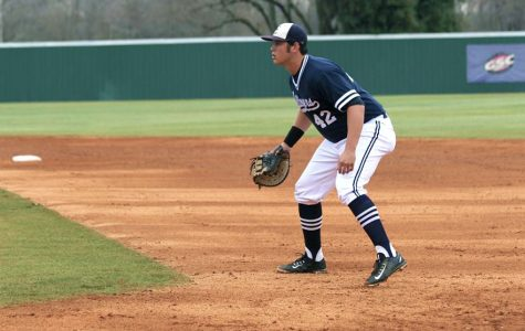 Transfer baseball player making impact early on in season
