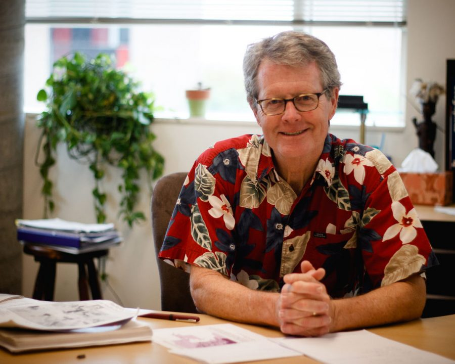 Dr. Quinn, professor of biology and computer science at St. Edward's University, has been teaching here since 1983.