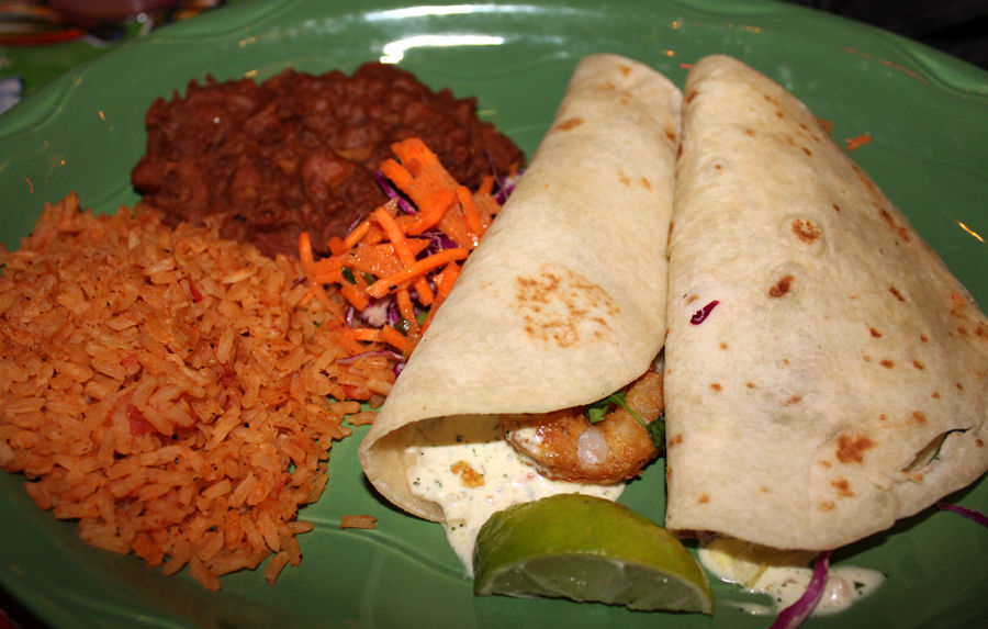 Be careful of your friends fingers when you have these tacos on your plate!